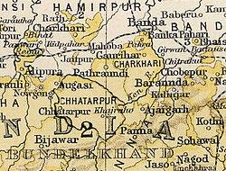 Location of Chhatarpur