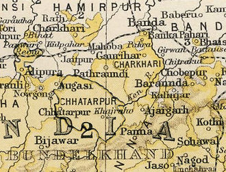 Bijawar State - Bijawar State in the Imperial Gazetteer of India