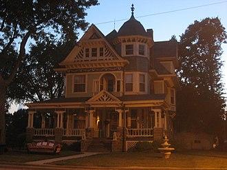 Aviston, Illinois - The James C. Twiss House on Page Street