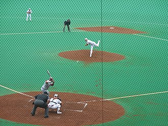 AstroTurf - UFCU Disch–Falk Field in Texas, utilizing an older-style AstroTurf surface that has since been replaced