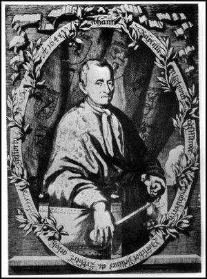 Jan Baptist van Helmont - Posthumous portrait of Jan Baptist van Helmont