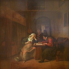 The Physician writes a Prescription for a Young Woman