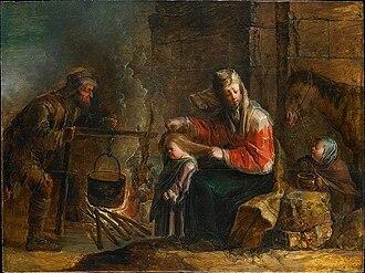 Jan van de Venne - Gypsy family