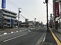 Japan National Route 183 near Miyoshi Station.jpg
