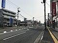 Japan National Route 183 near Miyoshi Station.jpg