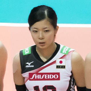 Miya Sato Japanese volleyball player