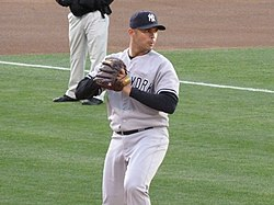 Javier Vázquez with Yankees in 2010.jpg