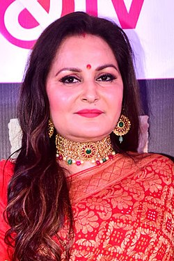 Jaya Prada graces Perfect Pati TV serial launch (03) (cropped).jpg