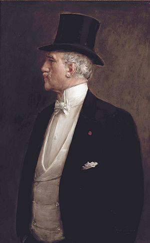 Jean Béraud - Self portrait (ca. 1909)