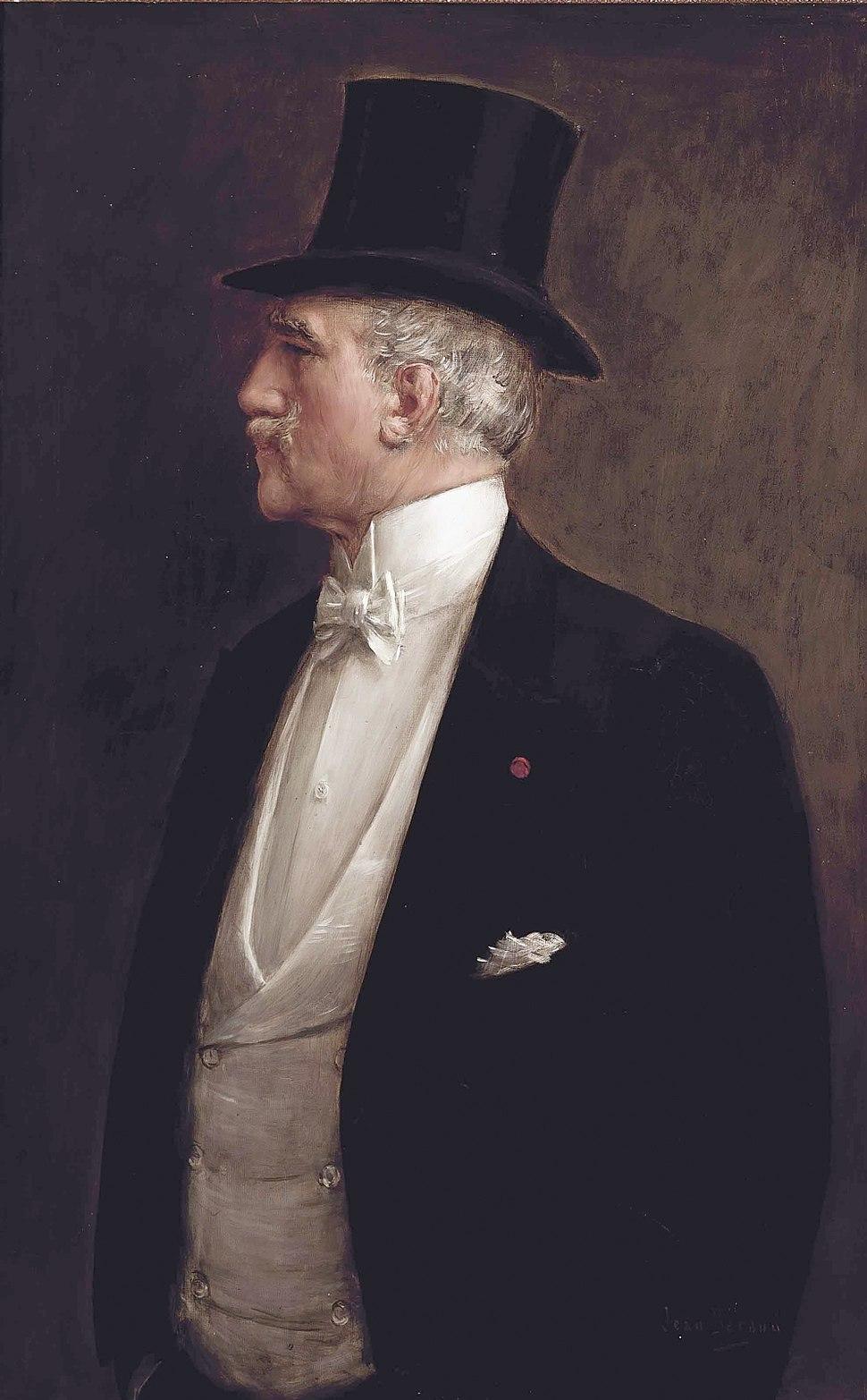 A self portrait of Jean Béraud
