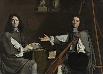 Jean Baptiste de Champaigne - Jean Baptiste de Champaigne and Nicolas de Plattemontagne