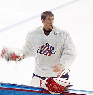 Jean-Marc Pelletier American-born Canadian ice hockey player