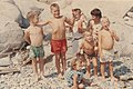 Jeb Bush with siblings and friends or cousins in Kennebunkport August 1962 (2885).jpg