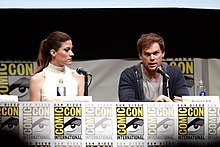 Michael C. Hall nel 2013 assieme a Jennifer Carpenter
