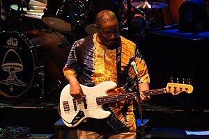 Jerry Jemmott - Jemmott at the Beacon Theatre with the Allman Brothers Band, March 23, 2009