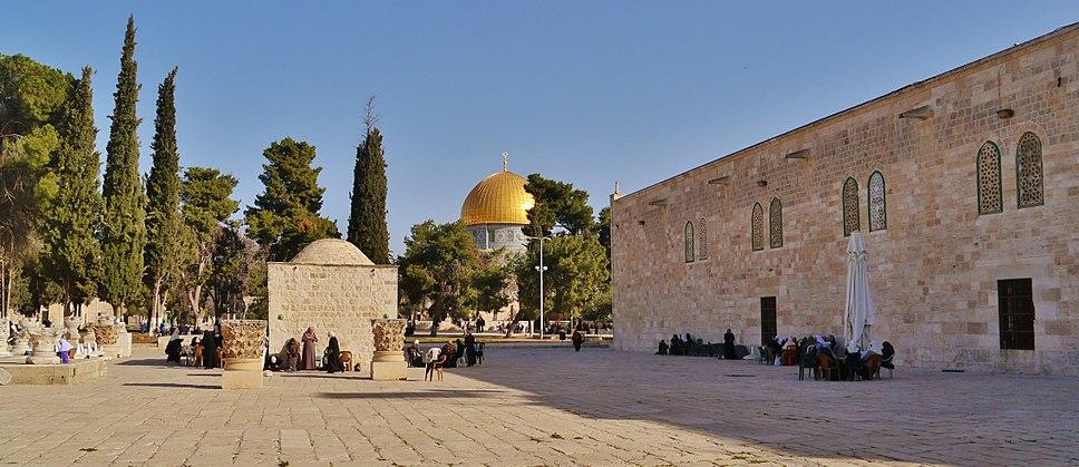 Jerusalem Tempelberg Felsendom 01