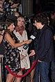 Jesse Eisenberg interviewed by CP24 while Natalie Kalata waits her turn.jpg