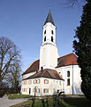 Jettingen-Scheppach, Wallfahrtskirche Allerheiligen Südostseite 2010.jpg
