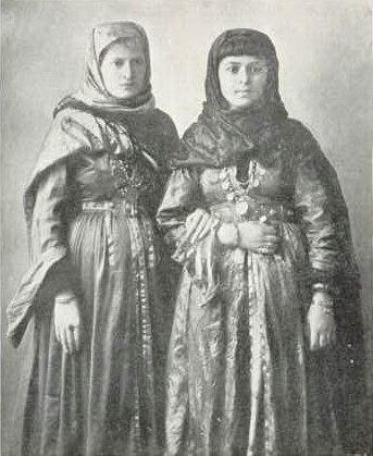 Jewish Girls of the Caucasus, 1913