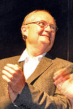 Photo of Jim Broadbent at the Toronto International Film Festival in 2010.