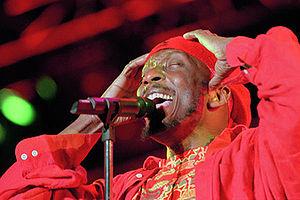 Grammy Award for Best Reggae Album - 1986 award recipient Jimmy Cliff in 1997