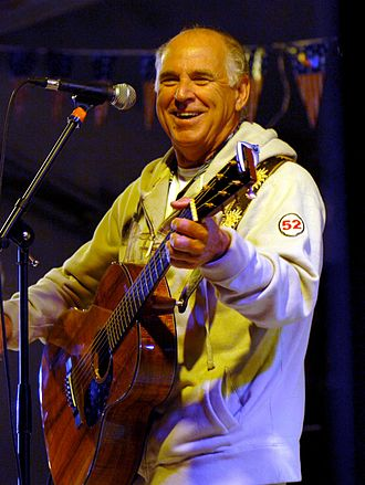 Jimmy Buffett - Buffett performing, January 2008