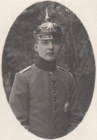 Joachim Ernst, Duke of Anhalt - Joachim Ernst in 1918