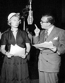 Joan Davis Joseph Kearns Leave it to Joan 1949.JPG