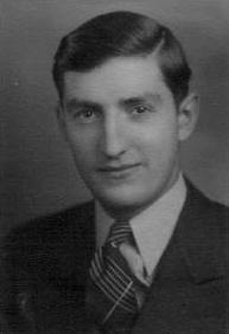 Joe Robbie - Family photo of Robbie, taken in the 1940s