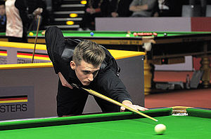 Joel Walker (snooker player) - Joel Walker at 2014 German Masters
