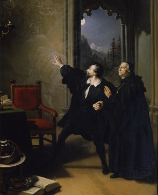 Johann Peter Krafft -Manfred's Death