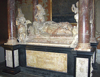 1594 in Sweden - Tomb of John III in Uppsala Cathedral.