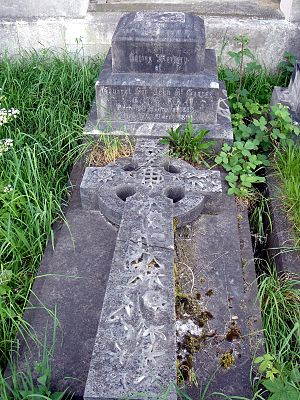 John St George - Funerary monument, Brompton Cemetery, London