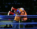 John Cena hits the F-U on Kurt Angle.jpg