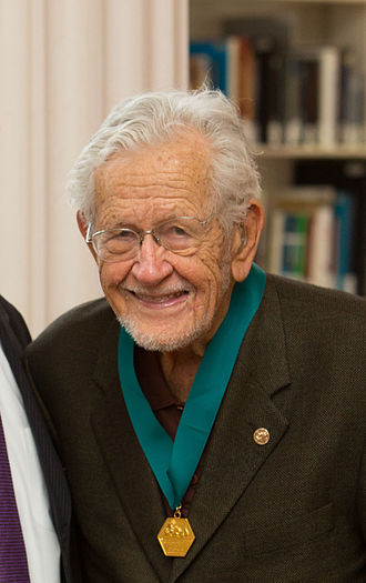 John D. Roberts - Receiving the AIC Gold Medal, 2013