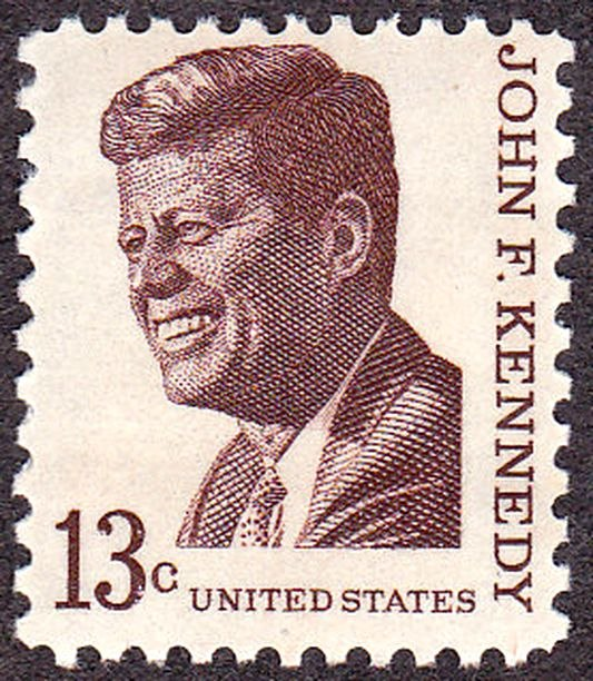 John F Kennedy 1967 Issue-13c