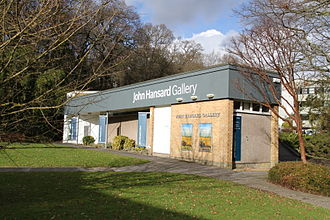 Highfield Campus - The John Hansard Gallery building, built in 1957 to house a tidal model of Southampton Water.