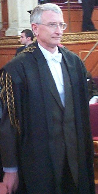 John Hood (university administrator) - Image: John Hood 20050317