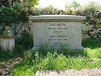 John Newton's tomb - geograph.org.uk - 814703.jpg