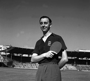 Johnny Leach - Johnny Leach participated in the World Championships at Bombay in February, 1952.