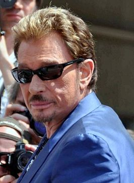 Johnny Hallyday in 2009.