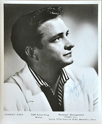 Johnny Cash - Publicity photo for Sun Records