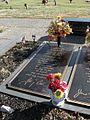 Johnny Cash grave Hendersonville Memory Gardens Hendersonville TN 2013-12-27 001.jpg