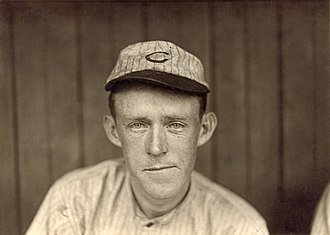 Johnny Evers - Evers with the Cubs, circa 1910