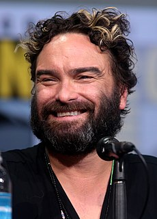 Johnny Galecki American actor
