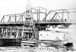 Johnson Street Bridge - Johnson Street Bridge archive photo