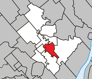 Joliette - Image: Joliette Quebec location diagram