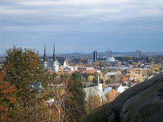 Jonquière Borough in Quebec, Canada