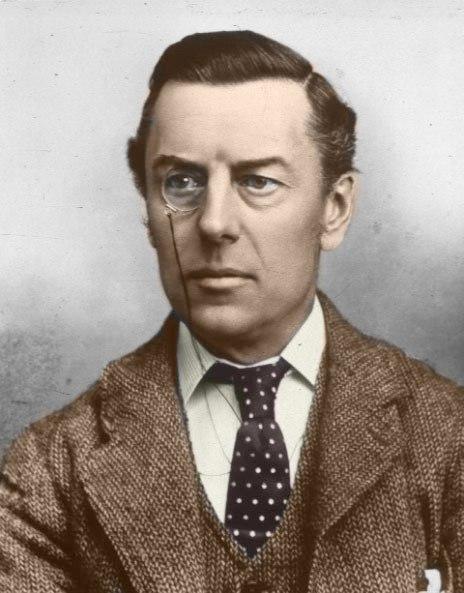 Joseph Chamberlain in colour