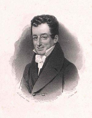 Leimen (Baden) - Joseph von Henikstein (around 1834)